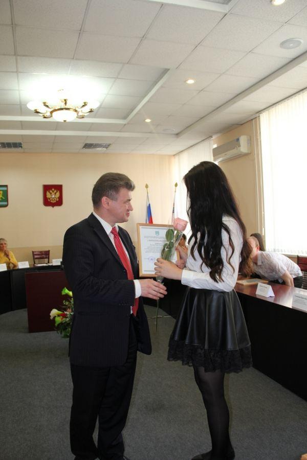 Торжественный приём главы муниципального образования «Город Биробиджан» Еврейской автономной области