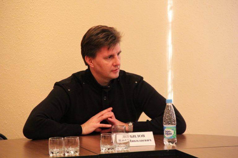 Встреча студентов с Ильей Дербиловым — дирижером хора и симфонического оркестра Капеллы  г. Санкт-Петербурга