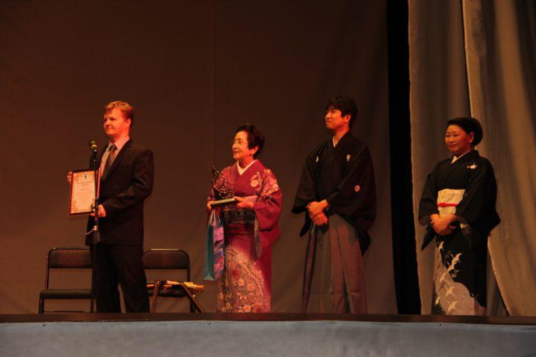 Концерт музыкального коллектива Японии