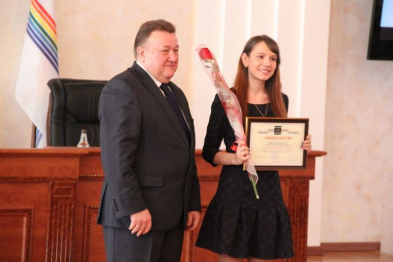Торжественное мероприятие, посвящённое вручению премий губернатора Еврейской автономной области