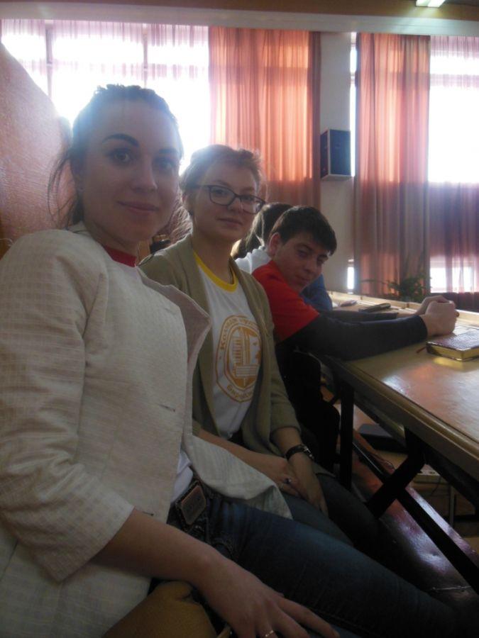 Участие в образовательной площадке «Молодёжные организации» «Образовательная тренинговая площадка «Студ-холл».