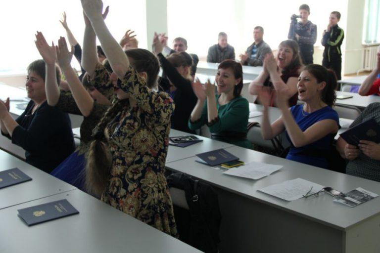 Торжественное вручение дипломов студентам специальности «Социально-культурная деятельность»  заочного отделения 2016г.