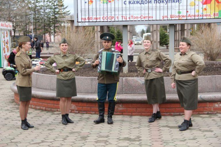 Участие студентов колледжа во Всероссийской молодёжной патриотической акции «Георгиевская ленточка»