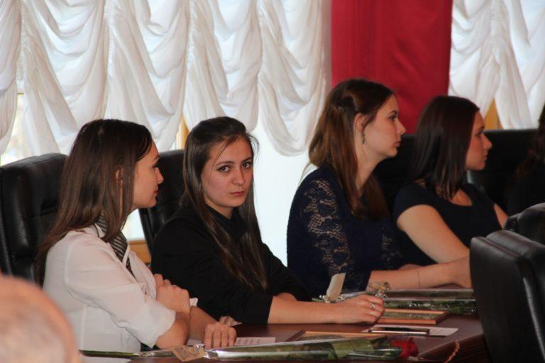 Торжественное мероприятие в правительстве ЕАО, посвященное дню Российского студенчества!