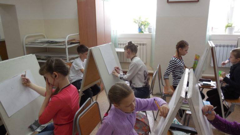 XIII Региональный конкурс «Юный живописец»