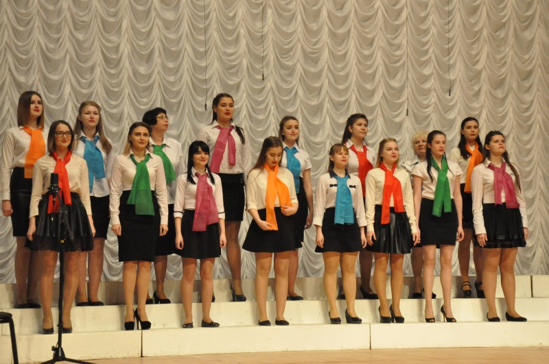 Хор студентов принял участие в Региональном этапе Всероссийского хорового фестиваля