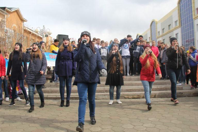 Cтуденты колледжа приняли участие в Волонтерском космическом забеге