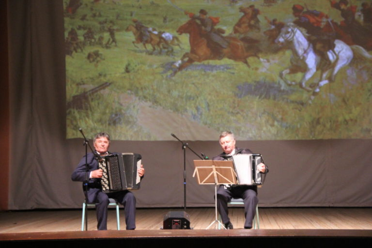 Отчетный концерт «Нити творчества с искусством сплетены»