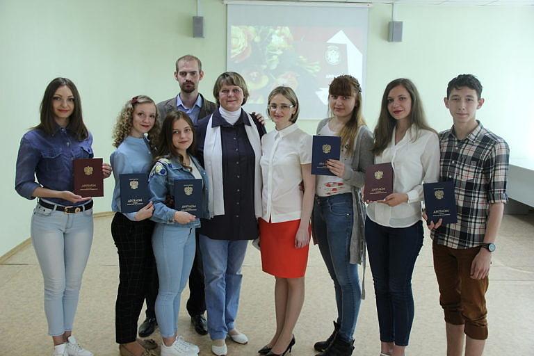 Вручение Дипломов студентам – выпускникам специальности «Социально-культурная деятельность»