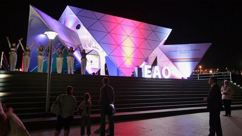 Студенты колледжа приняли участие в составе творческой делегации ЕАО на Восточном экономическом форуме
