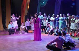 Ансамбль «Овация» принял участие в торжественном мероприятии, посвященном празднованию 80-летия Биробиджана