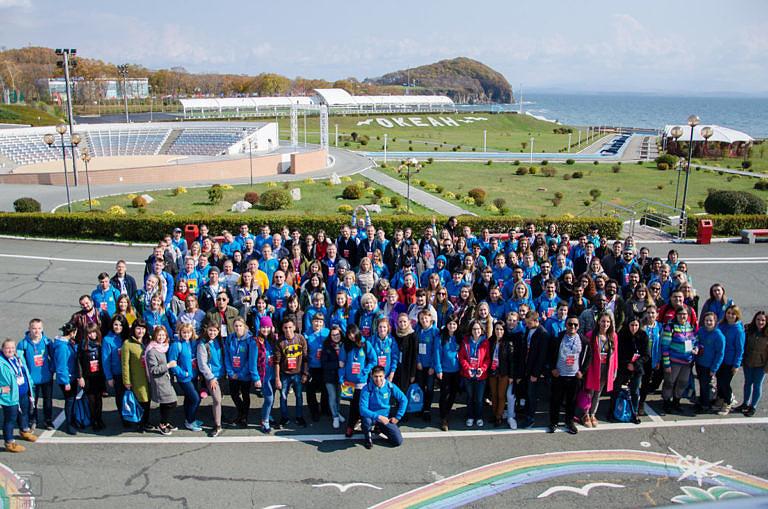 Студенты колледжа — участники Региональной программы XIX Всемирного фестиваля молодежи и студентов в г. Владивосток