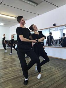 Открытый творческий показ по дисциплине Композиция и постановка танца