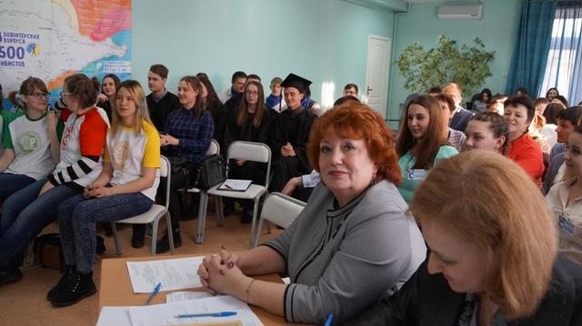 Команда колледжа приняла участие в Брейн-ринге на тему «Общество, права человека, выборы»