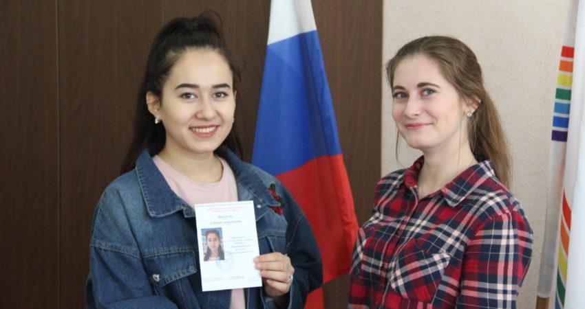 Председателем Студенческого совета колледжа культуры и искусств выбрана Давлятова Сабрина