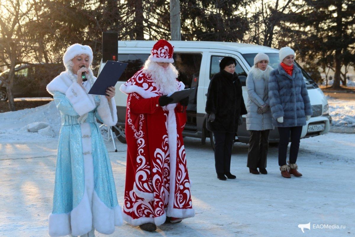 Открытие II Международного конкурса ледовых скульптур «Хрустальная менора»