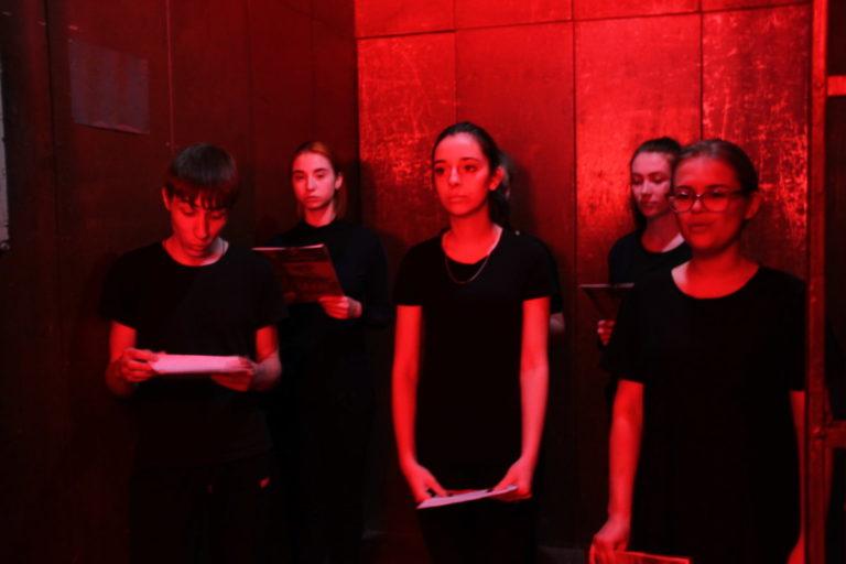 Студенты приняли участие в Публичных чтениях Солженицына «Крохотки»