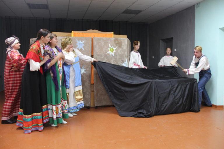 Вертепное представление — практическая часть Государственного экзамена