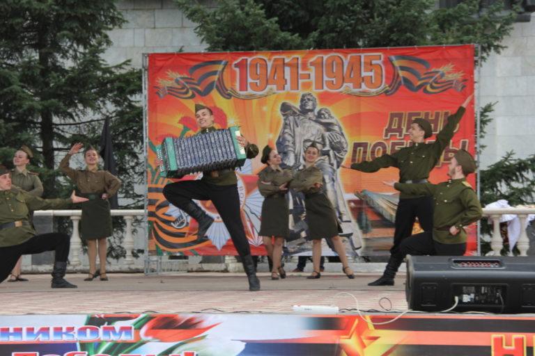 Праздничный концерт «Берегите память войны!», посвященный Дню Победы!