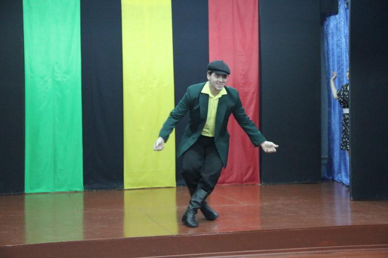 Творческий показ по сценической речи «Поезд ехал на  Бердичев…» Михаил Зощенко