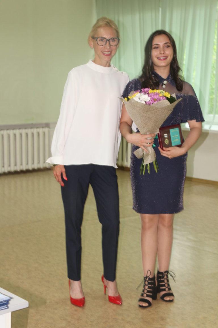 Виктории Золотухиной вручена медаль Законодательного Собрания ЕАО «За активную жизненную позицию»