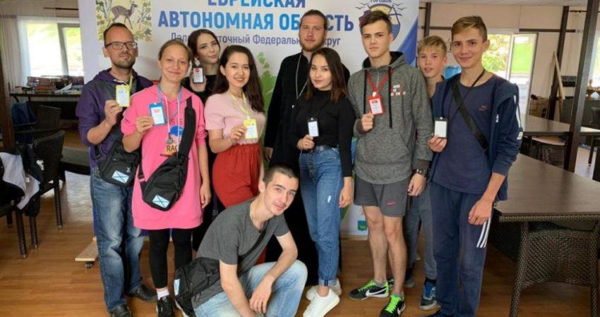 Студенты колледжа участники XIV Дальневосточного форума  инициативной молодежи «Андреевский городок»