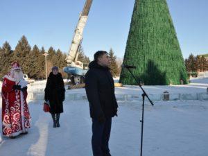 Дан старт Международному конкурсу ледовых скульптур