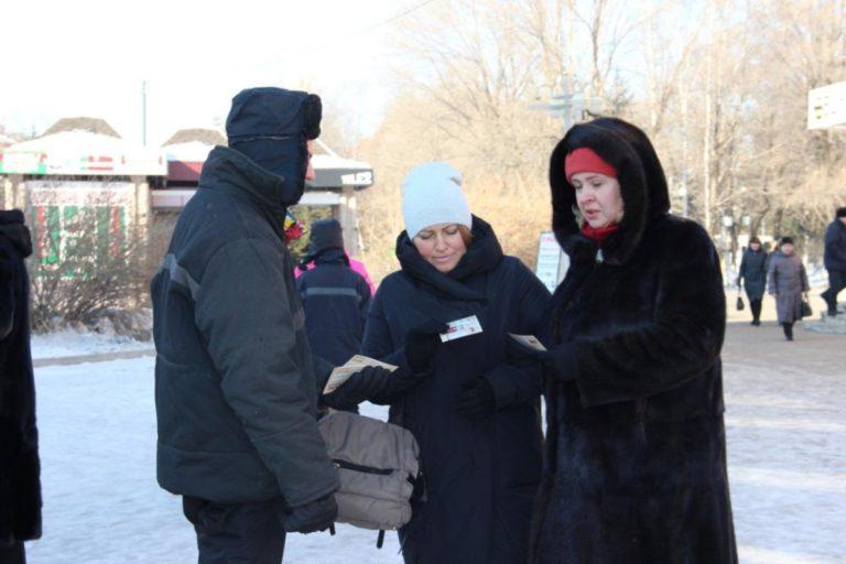 Волонтеры Победы приняли участие во Всероссийской акции памяти «Блокадный хлеб»