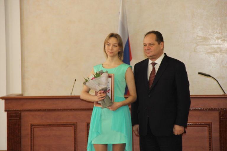 Торжественная церемония вручения премии губернатора ЕАО