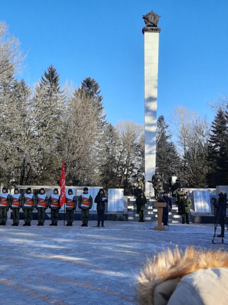 Патриотическая акция «100-дневный лыжный переход до Москвы»