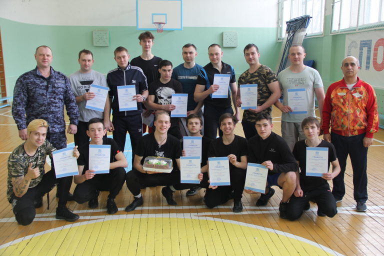 Спортивные соревнования, посвященные Дню защитника Отечества среди команд студентов и сотрудников вневедомственной охраны