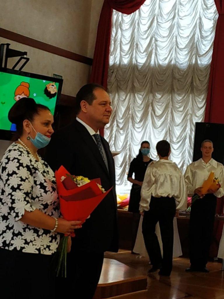 Высокими наградами отмечены преподаватели колледжа в День учителя!