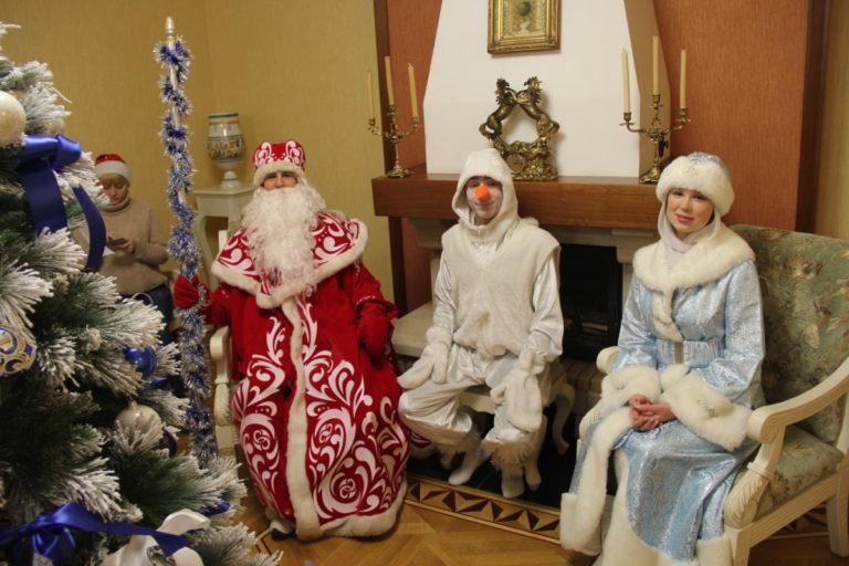 Дед Мороз и Снегурочка на Елке желаний!