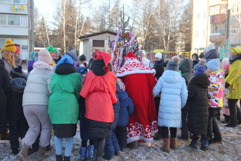Участие во Всероссийской акции «Новый год в каждый дом»