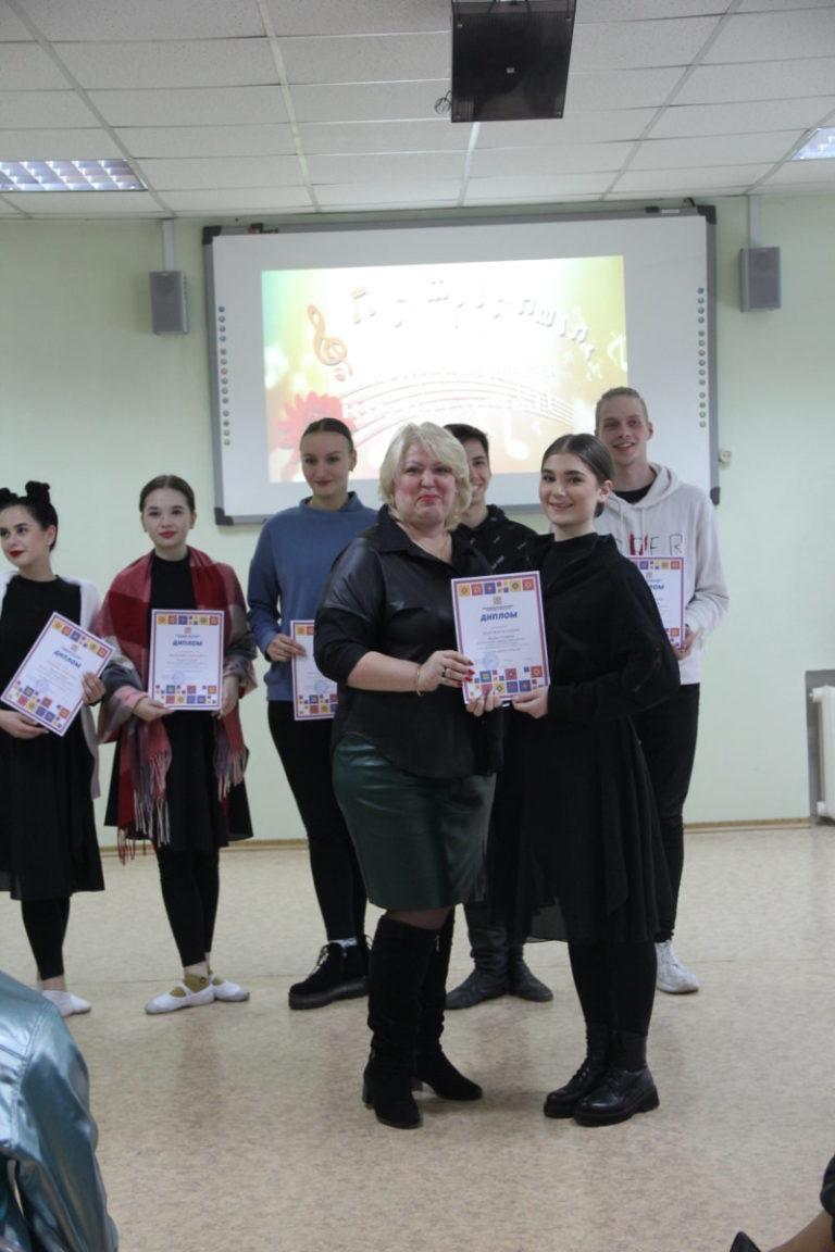 Торжественное награждение коллектива преподавателей и студентов колледжа с Днем работника культуры!