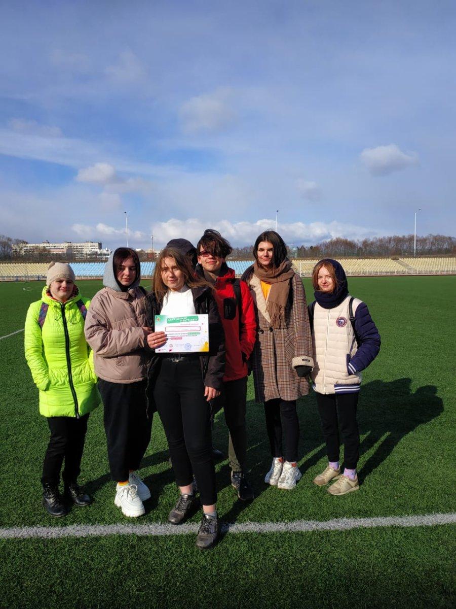 Команда колледжа приняла участие в квесте «На пути к ZOЖ» в рамках Всероссийской акции «Будь здоров!»