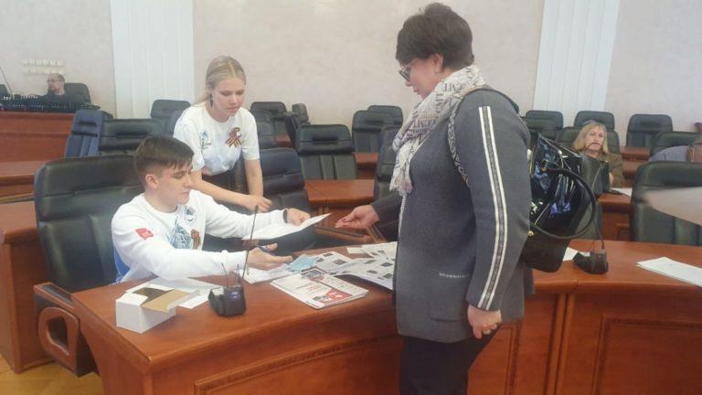 Участие в проведении Диктанта Победы приняли Волонтеры Победы