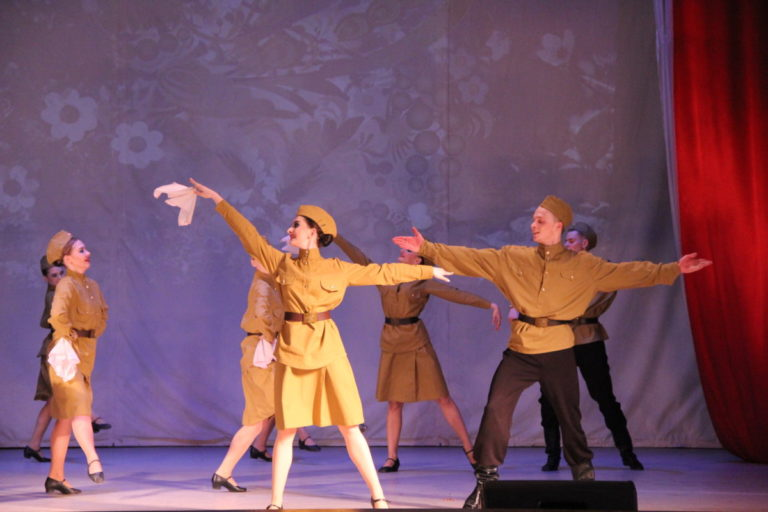 Отчетный концерт «Взлетай на крыльях таланта!»