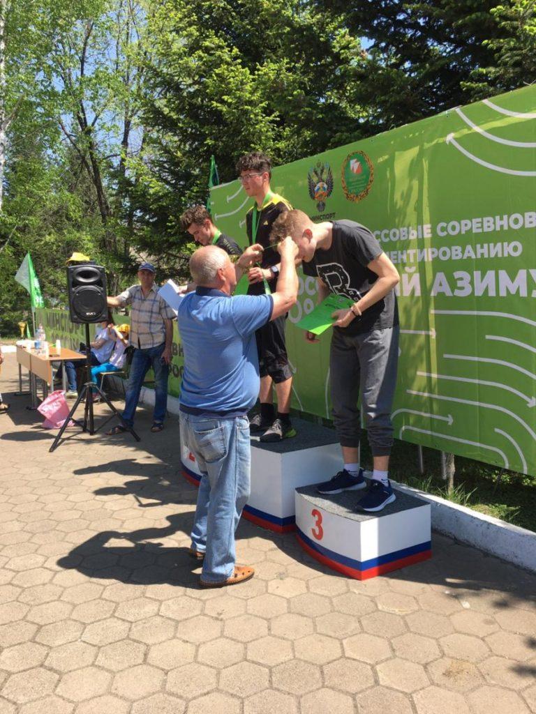 Три медали завоевали студенты колледжа на Всероссийских массовых соревнованиях по спортивному ориентированию «Российский Азимут-2021»