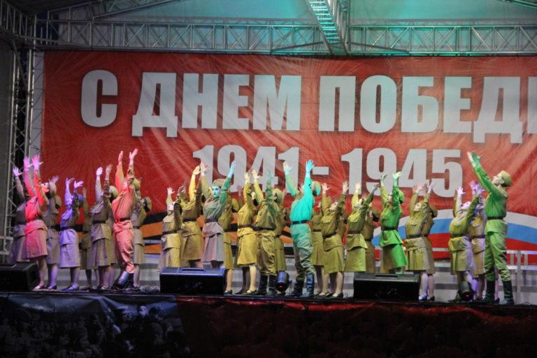 «Овация» и «Новый день» приняли участие в праздничном концерте, посвященном Великой Победе!