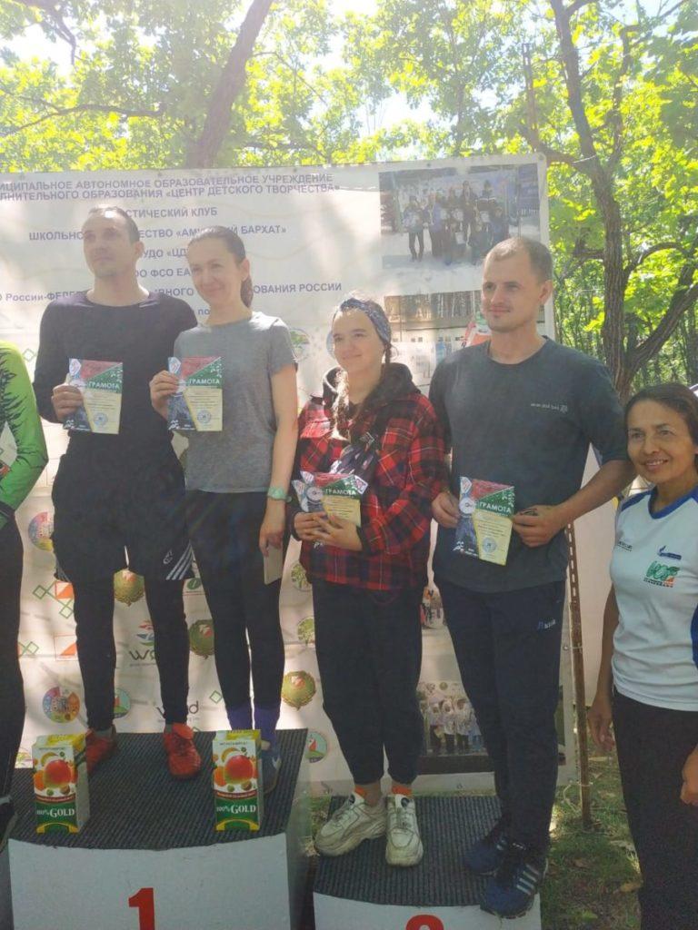 Два III места в соревнованиях по спортивному ориентированию «Бирская многодневка» завоевала студентка 1 курса Полина Останкова