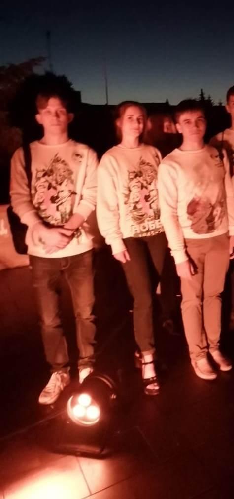 Во Всероссийской акции «Свеча памяти» приняли участие волонтеры Победы