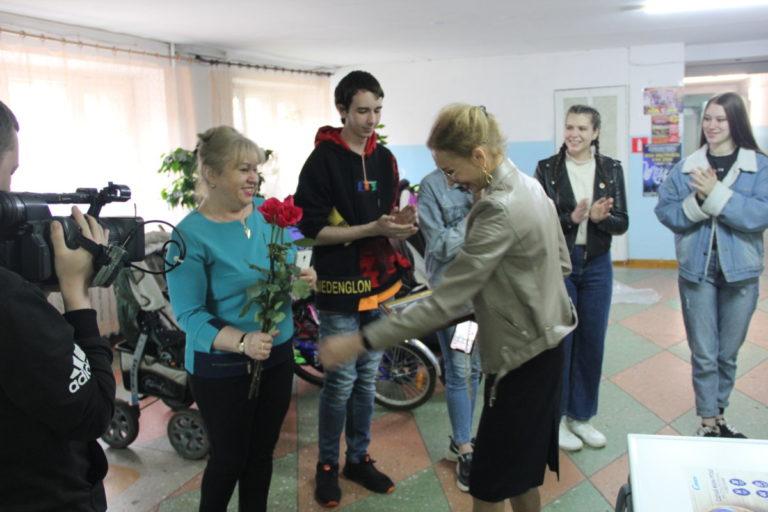 Елизавета Славина исполнила просьбу студентов колледжа