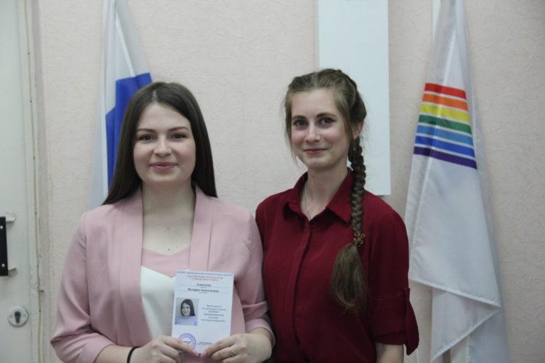 Председателем Студенческого совета колледжа культуры и искусств избрана Алексеева Валерия
