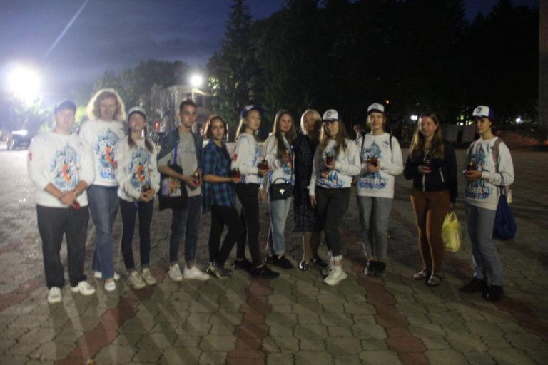 Волонтеры Победы приняли участие в мероприятии, посвященном окончанию Второй Мировой войны