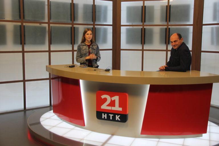 Экскурсия на телестудию НТК 21