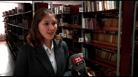 В полуфинале Всероссийского конкурса «Большая перемена» примет участие Варвара Ахмерова — студентка колледжа культуры и искусств